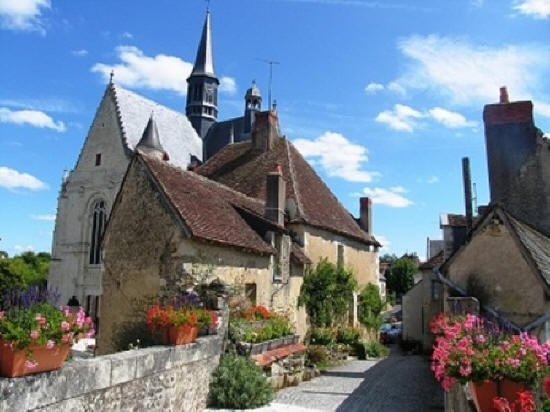 Montresor one of the most beautiful villages in France
