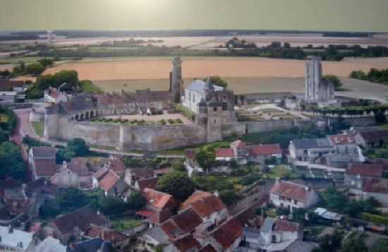 Le Grand Pressigny Chateau