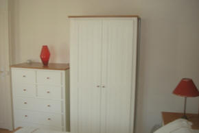 wardrobe Les Balcons holiday home in Le Grand-Pressigny France