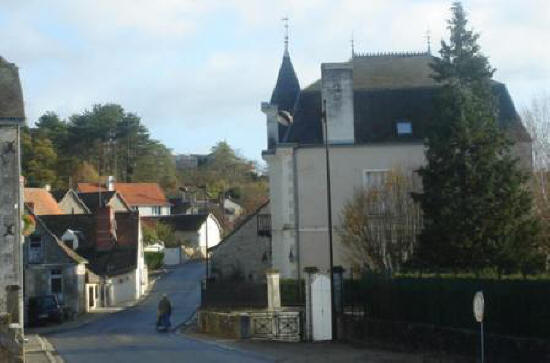 Avenue Andre Theuriet in Le Grand-Pressigny Southern Touraine